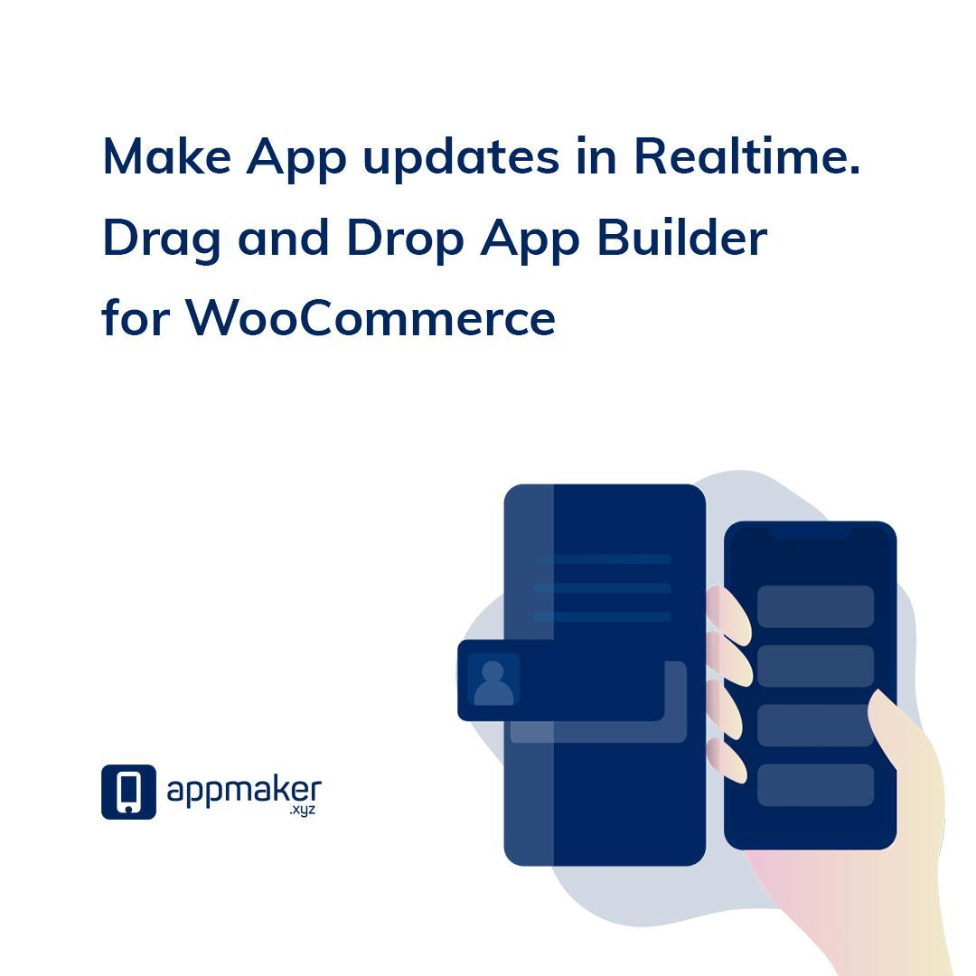 With the rise to No code(no-code) movement, we are also happy to introduce App builder for #WooCommerce. Convert WordPress WooCommerce websites to App for Android & iOS using #Appmakerxyz . Just install Appmaker plugin and you are good to go. #WooCommerceApp #Appbuilder #App<br>http://pic.twitter.com/KWeiF0sLaU