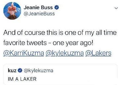 庫茲馬只是開始?湖人女老闆鴻門宴後他做出一舉動,湖人要開始行動了?-Haters-黑特籃球NBA新聞影音圖片分享社區