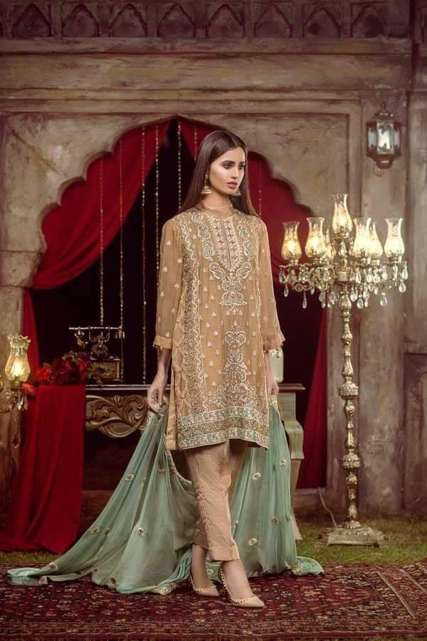 6e8a917a6d Adan Libas Zebaish Chiffon Collection Ready to Dispatch At IBAAS... Shop  Online: