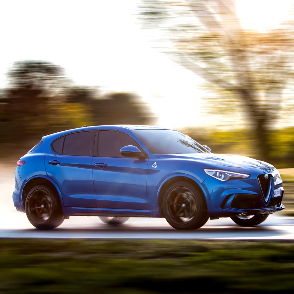 The most exciting driving experience on every ground thanks to the Q4 all-wheel drive system. Curious?  Click here to discover more about Stelvio Quadrifoglio: https://bit.ly/2hxWCyZ #StelvioQuadrifoglio #Q4 #LaMeccanicaDelleEmozioni