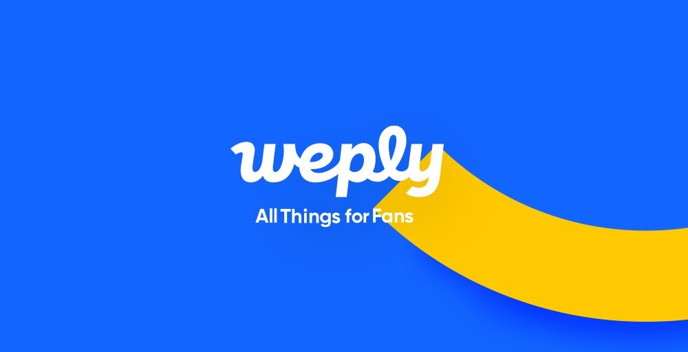 All things for Fans, Weply June 3rd, Coming Soon! 👍