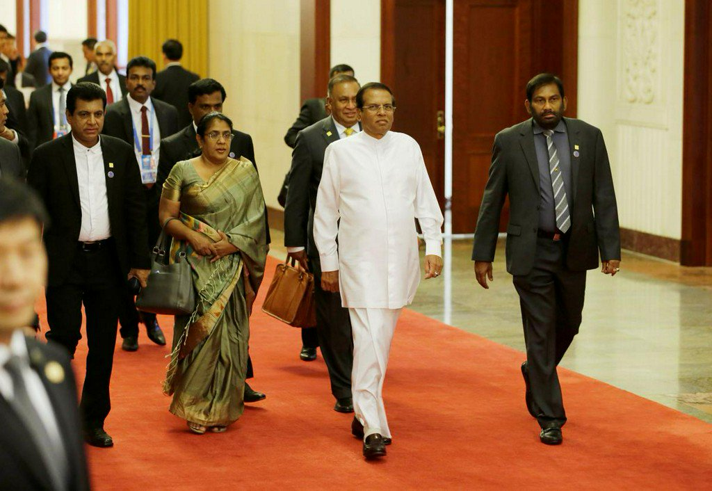 After coming under fire for not #acting on #warnings about #Easter bombings that killed more than 250 people, #SriLankan President #MaithripalaSirisena is now facing #criticism over his leadership in the aftermath of the Islamist attacks.  #MNA_English #MNA