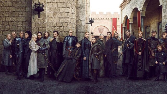 Thank you Game of Thrones cast and crew for bringing us this beautiful story, and for creating something that can never be matched. I can confidently say that, all criticism cast aside, we will not see its light again. #GamefThrones #GamesOfThronesFinale