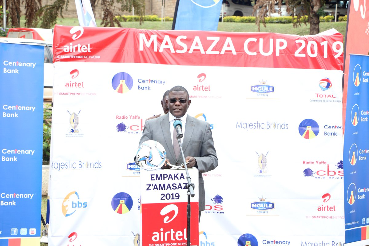 The launch of the 2019 Masaza Cup has been graced by the First Deputy Katikiro, Twaha Kawaasi who appreciated the sponsors for their contributions towards the tournament Airtel Uganda has been at the helm of the Masaza Cup sponsors for 3 years.