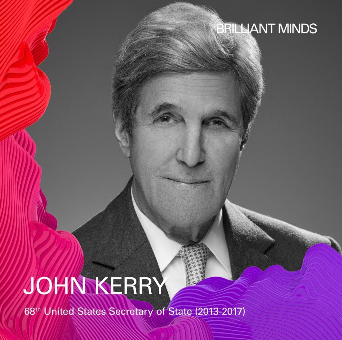 Amazing speaker list @natalbrzezinski #Brilliantminds John Kerry will be great! Check out more speakers: https://t.co/23GhTqYY69 GREAT JOB Natalia, we're proud of you