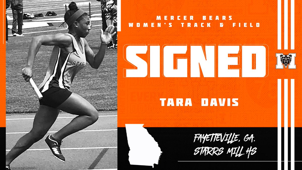 Help us welcome Tara Davis to the Mercer Family! 🙌  #RoarTogether
