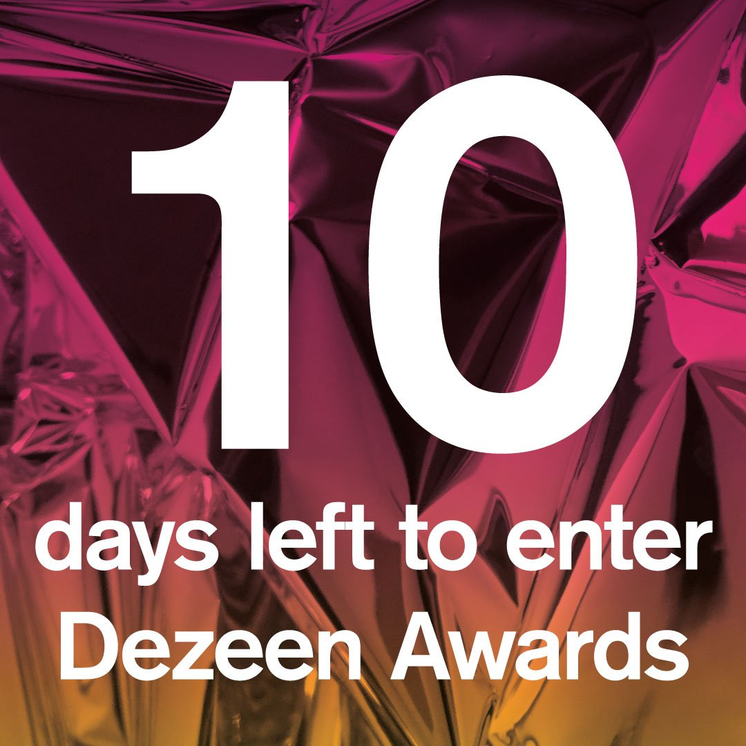 10 days left to enter @Dezeen Awards 2019. Here are our judges tips on how to make sure that your entry will impress: dezeen.com/2019/05/20/ent… #dezeenawards #architecture #interiors #design #awards