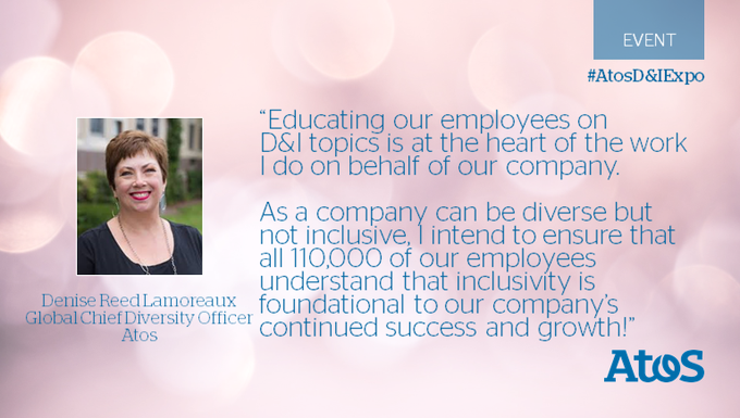 Learn more about Atos learning series devoted to #Diversity and #Inclusion from...