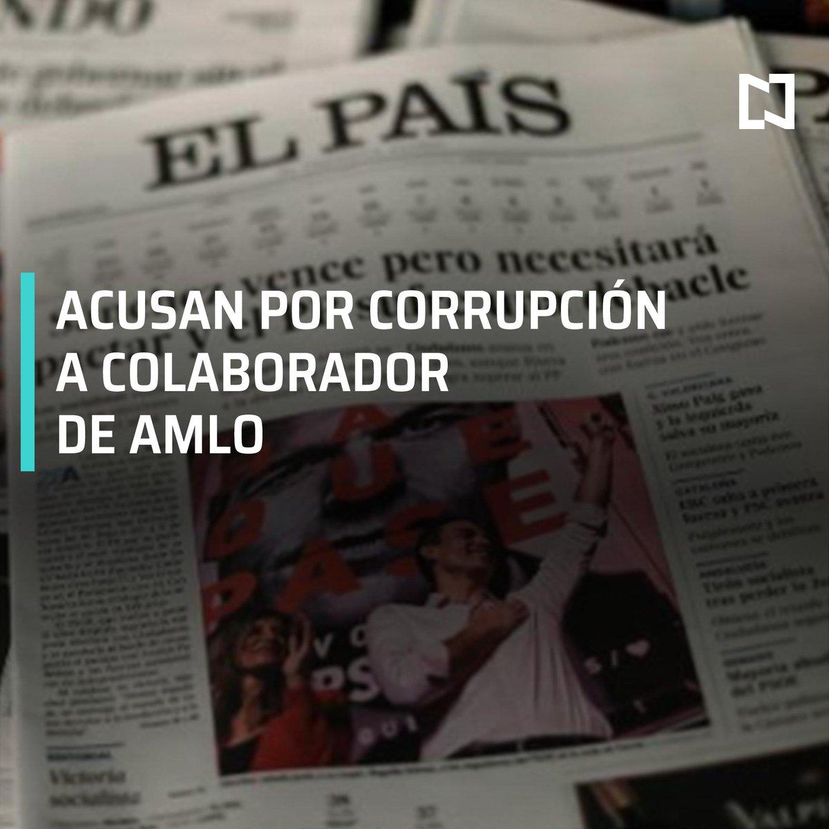 El periódico español 'El País' publica una nota sobre el empresario mexicano Carlos Lomelí, excandidato de Morena al gobierno de Jalisco, acusado de corrupción #DespiertaConLoret con @CarlosLoret