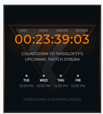 The countdown has begun to the return stream. Put it in your diaries and i will see you in less then 24hrs to absolutely Dominate !! IMAGINE @twitch @InvictusTwitch #return #twitch #countdown #24hrs #streamer