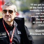 Guenther Steiner is targeting a strong qualifying session at the #MonacoGP  Full quotes 👉 https://t.co/TCiXQ2D9lc