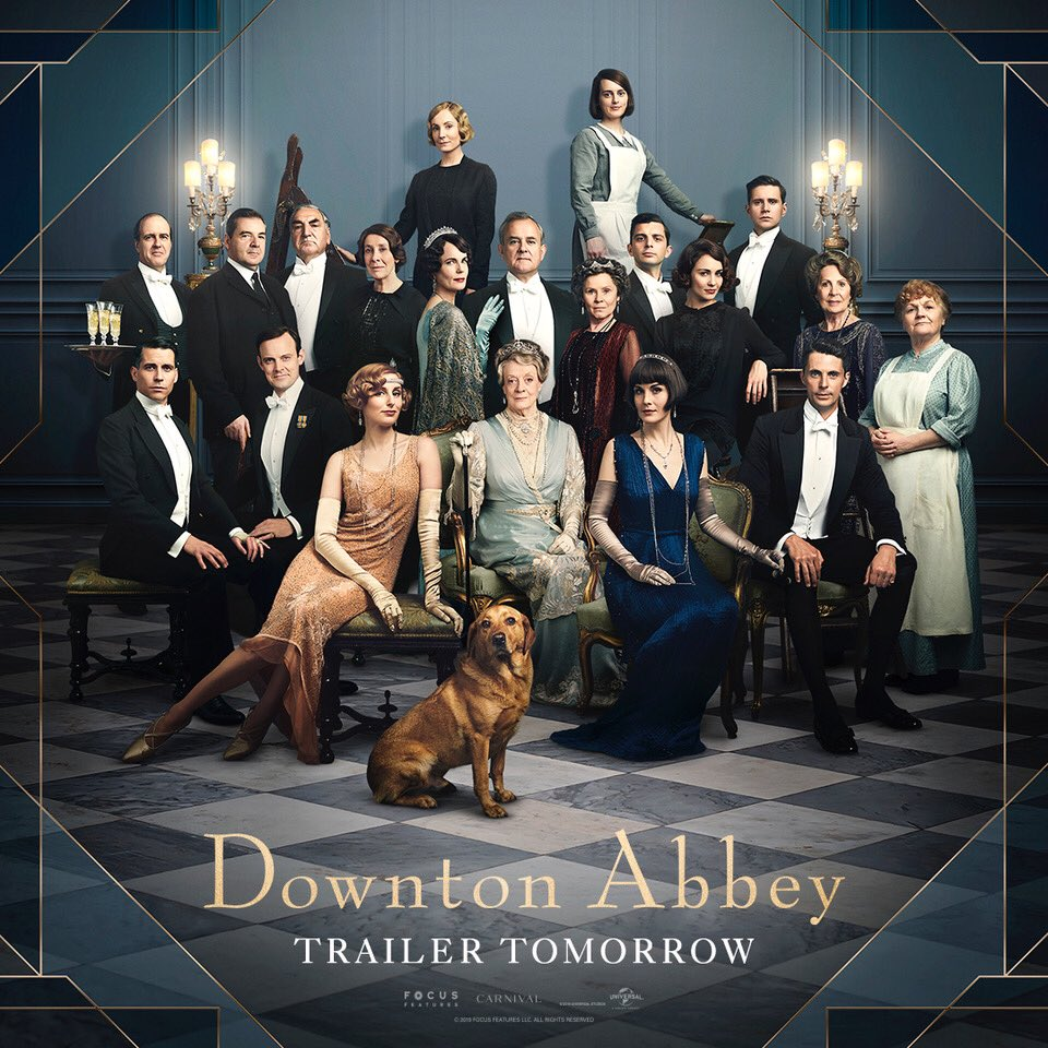 Joanne Froggatt's photo on #DowntonAbbeyFilm