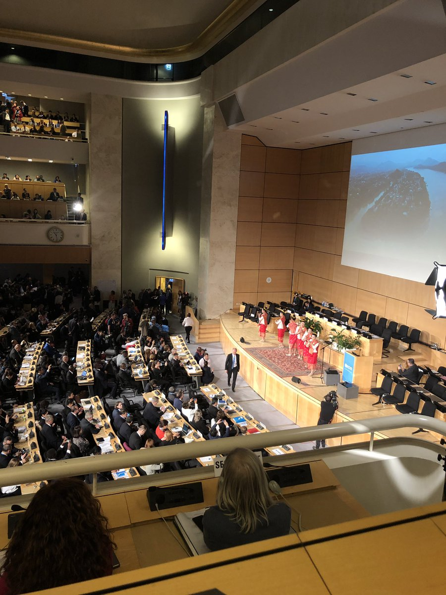 Rousing speech recognising all aspects of #globalhealth & social determinants of health required to impact on #healthforall We are sure @TashaWangMwansa would also be a great advocate of #WASH for safer, quality healthcare! #WHA72