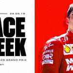 The sparkling jewel in @F1's crown 👑 🏎 Round 6/21 📍 Circuit de Monaco 🗓 May 26th, 2019  #️⃣ #MonacoGP  #essereFerrari 🔴 #Charles16