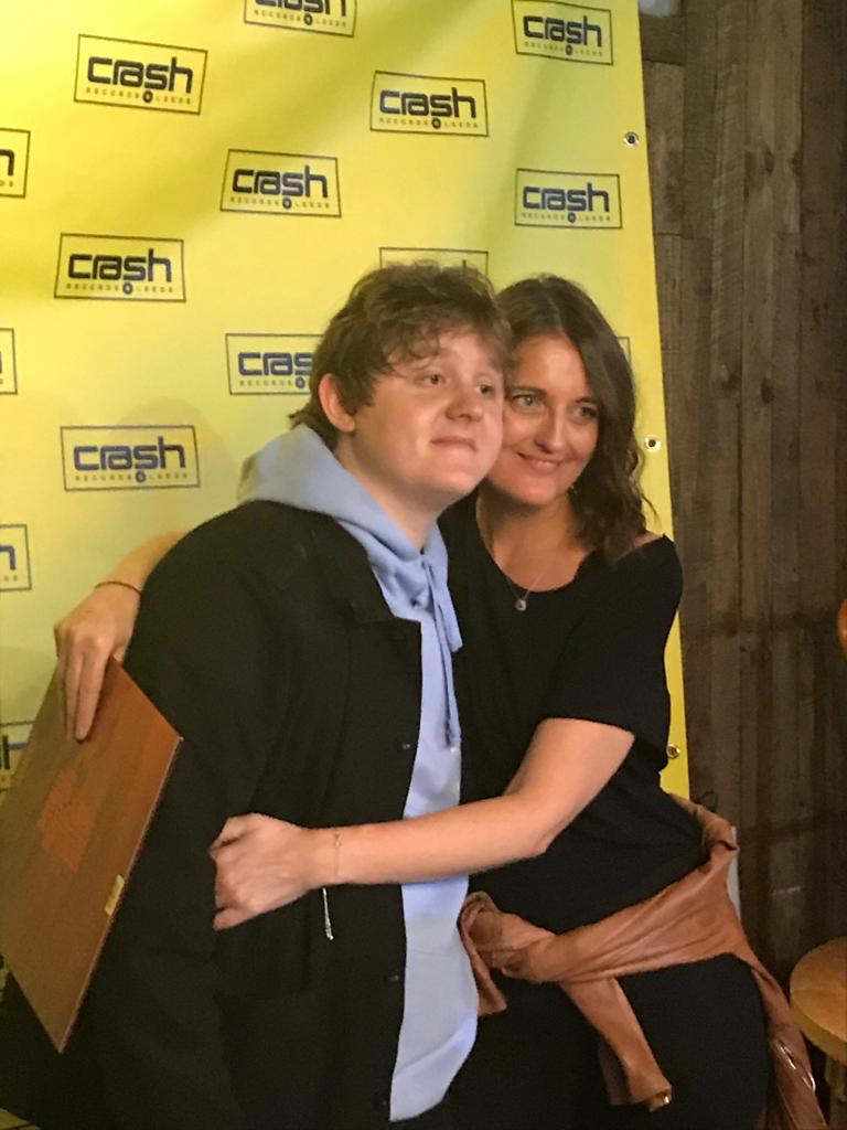 @LewisCapaldi, I absolutely fucking love you!!! What an amazing night Thank you @Crash_Records @wardrobeleeds, @aidenhalliday1 and the man himself   #DivinelyUninspiredToAHellishExtent  #AlbumOfTheYear #lewiscapaldi  <br>http://pic.twitter.com/G7V3m3TtGd