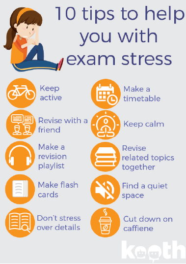 Stressed over #exams? Feeling stressed and anxious – no matter what the reasons – means that you need to look after yourself better. One of our Kooth counsellors has put together invaluable tips and advice to help this exam season #examstress  https://xenzone.com/exam-stress/