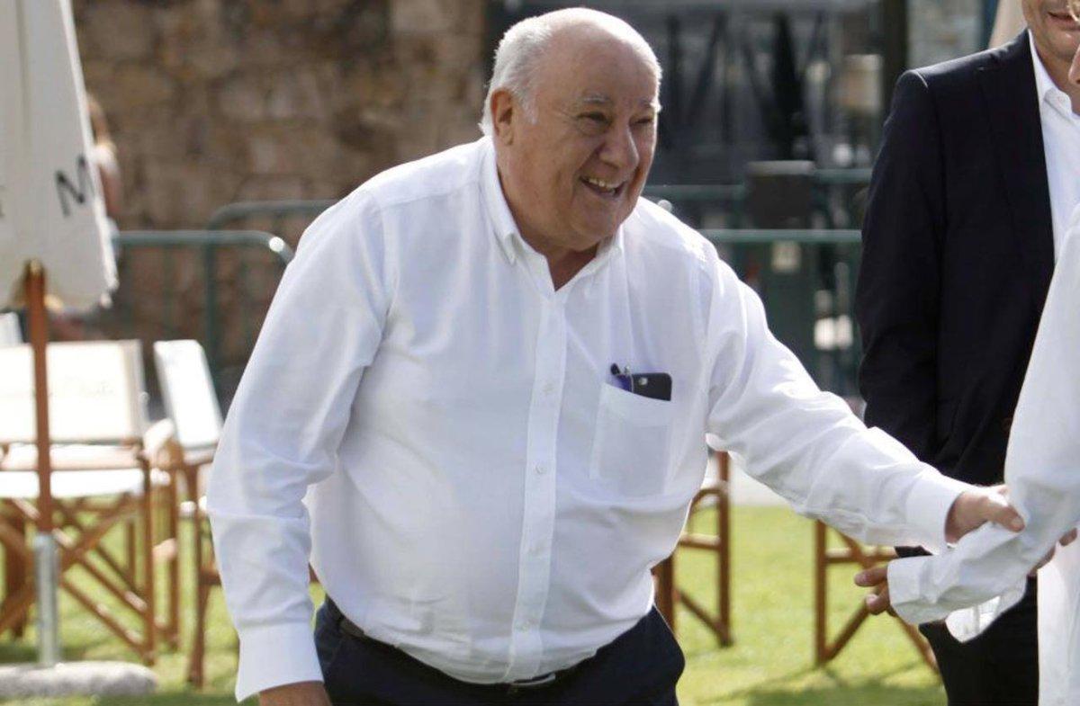 Amancio Ortega dona 20 euros a un restaurante del que se fue sin pagar un menú de 40 https://buff.ly/2VF67Lb