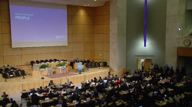 test Twitter Media - 28 countries have now introduced limits or bans on deadly trans fats, which now covers one-third of the world's population. @DrTedros addresses #WHA72. https://t.co/KylrkZpuWx