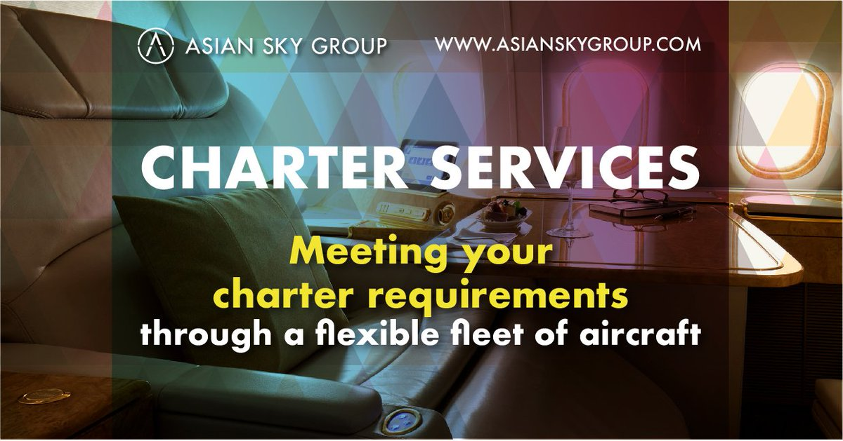 Have you booked your summer holiday yet? From light models to VIP airliners, ASG offers a wide-selection of #BusinessJets to cater to every #charter need. Contact ASG's Charter Services Manager (Serena Lui) for more info. http://www.asianskygroup.com/charter   #AsianSkyGroup
