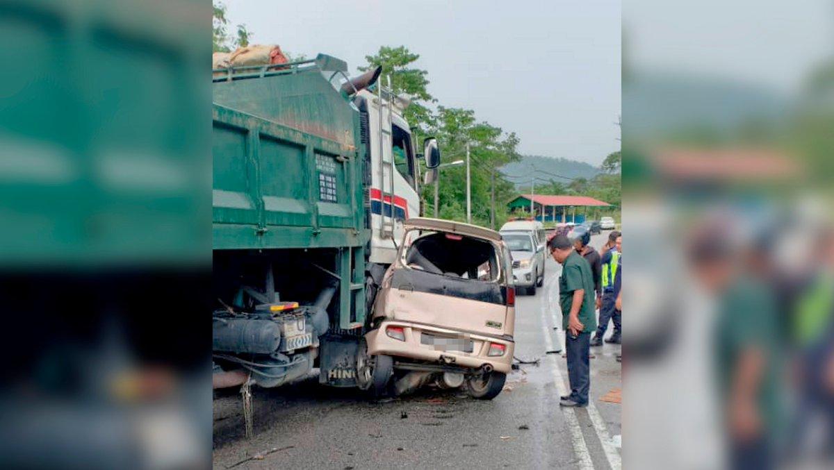 Pelajar UUM maut kereta bertembung lori bharian.com.my/berita/kes/201…
