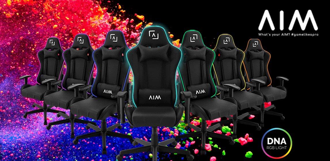 🌟 El trono del AIM ha sido diseñado para los gamers más perfeccionistas.  🛒 Ahora por 189,90€ en https://amzn.to/2Vx9vYg y http://aimgaming.eu