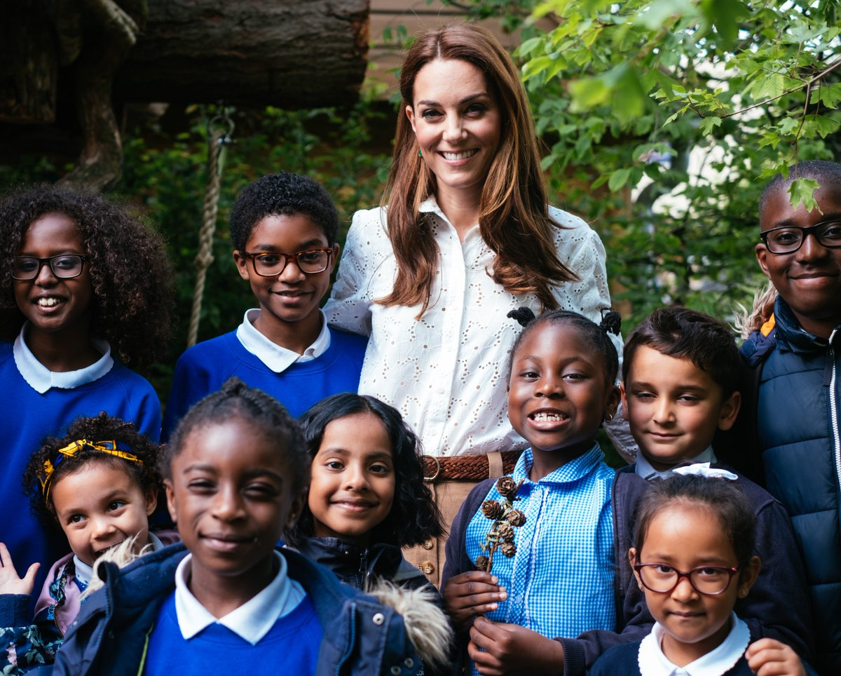 Thank you everyone that joined The Duchess of Cambridge in her #RHSChelsea Back to Nature Garden this morning!