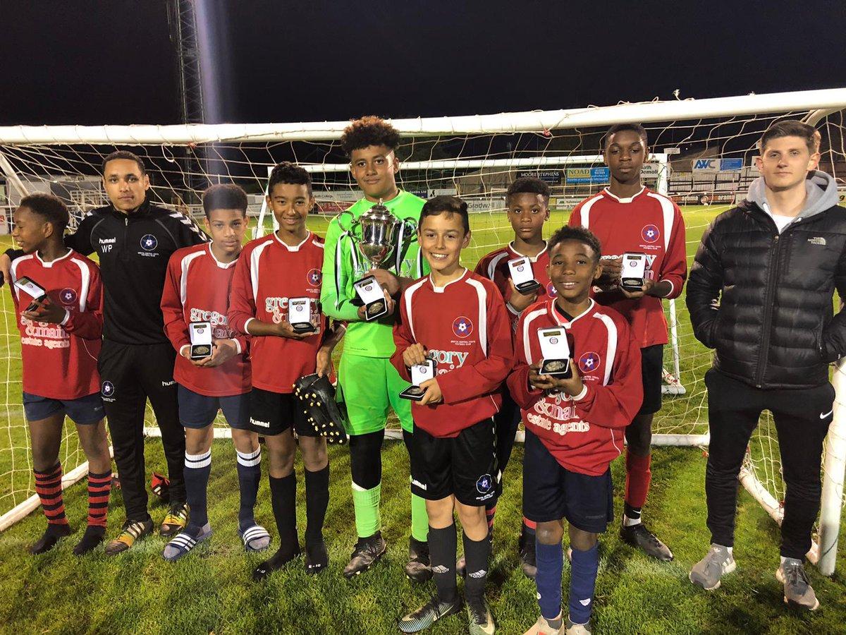 Bristol Central U13s won Bath tournament under the floodlights at Twerton Park!!! Good way to start tournament season !!