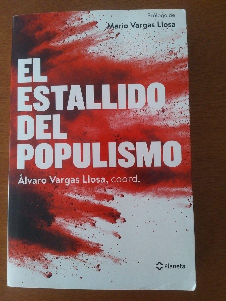 #LunesLibrosLibertad. Los autores conocen a fondo los riesgos que acarrea el populista y la respuesta no es otra que la defensa tenaz de la libertad y la democracia.#Recomendado