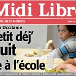 Image for the Tweet beginning: Ce matin, @Midilibre revient sur