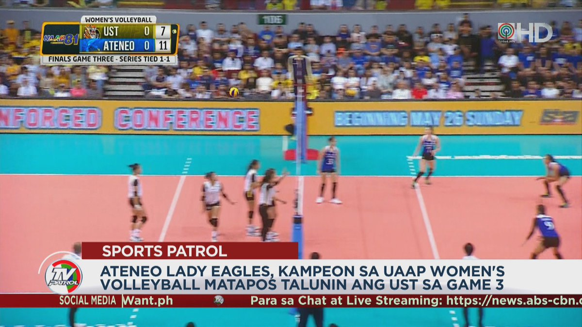 TV Patrol's photo on Game 3