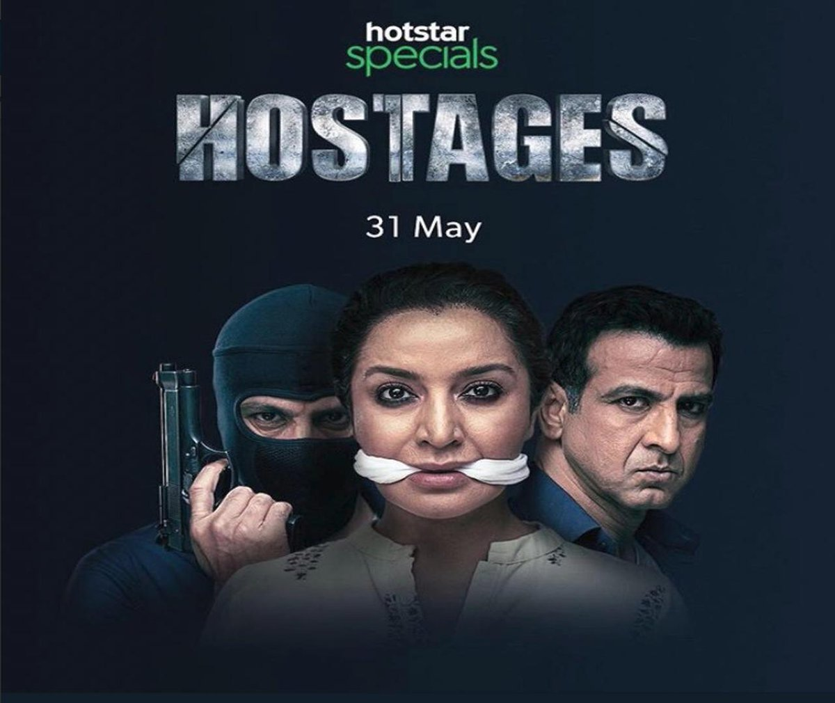 Catch the Indian remake of the popular  #Israeli series #Hostages that will premier on @hotstartweets on May 31. Are you excited? @RonitBoseRoy @tiscatime #ParveenDabbas #HostagesOnHotstar #Israeliseries