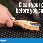 Ready to kick off cookout season? Keep your grill clean. Grease and fat buildup can provide more fuel for a fire. #BeSafe