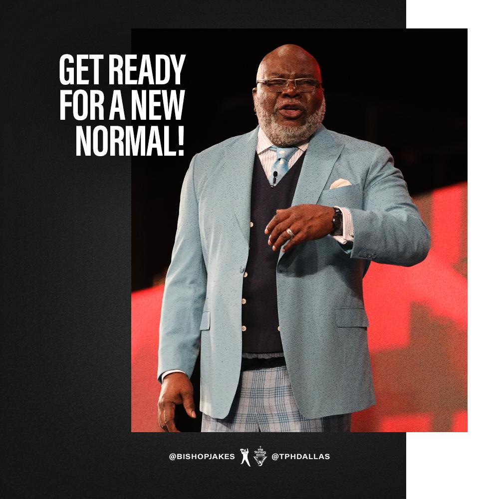 God is preparing you for a new chapter. He knows the plans in mind for you; they are plans for peace, not disaster, to give you a future filled with hope (Jeremiah 29:11).  Watch #RipeForAMiracle NOW at http://bit.ly/TPHRebroadcast  or the TD Jakes mobile app. #TPHOnline
