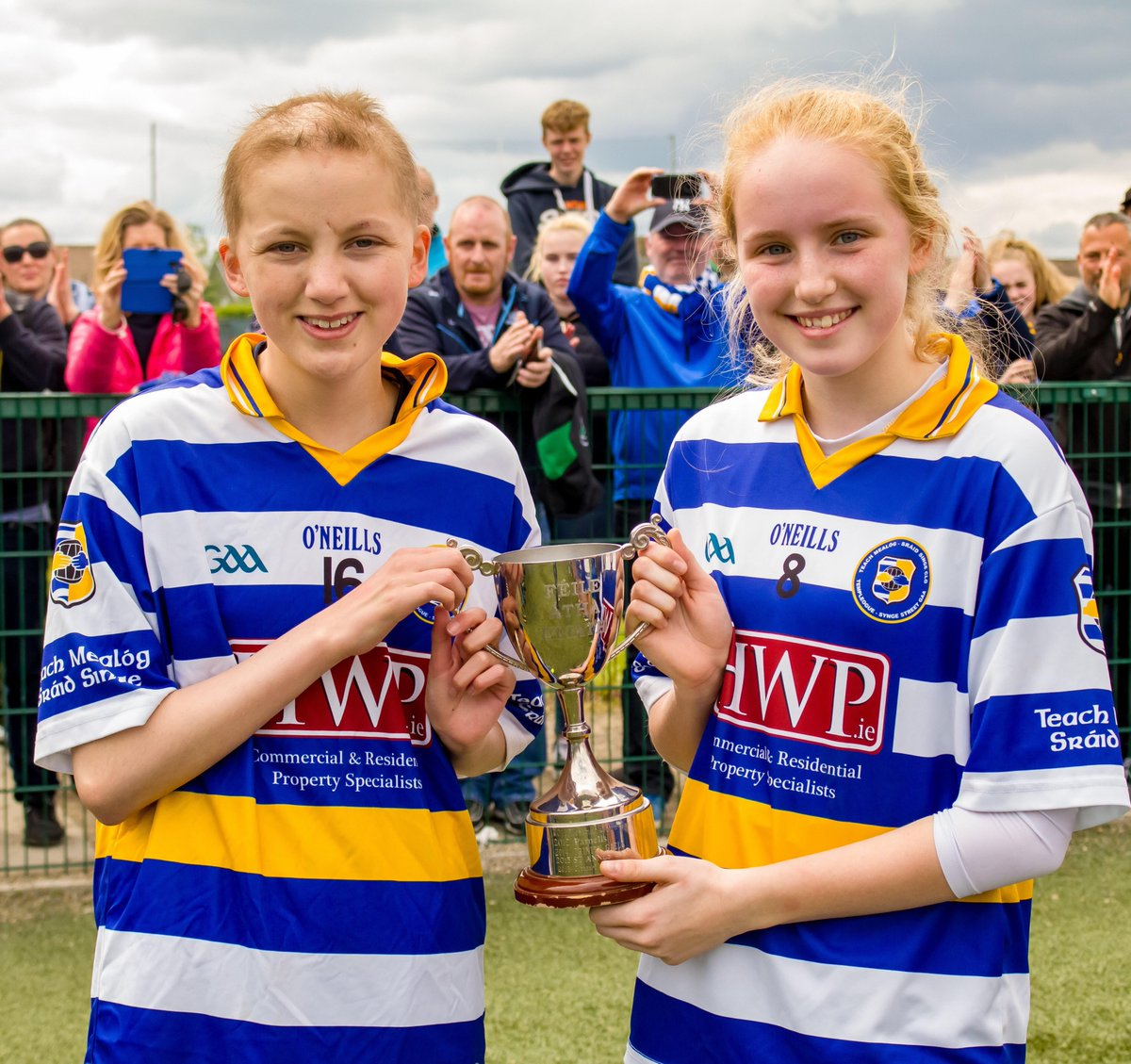 Fantastic to see Freya Fitzpatrick out playing in our @AIGIreland Dublin Feile for her club @Tempsyngest this past weekend. Freya co captained her team to the Div 5 Feile title, what an inspiration Freya is to us all! #AIGFeile19