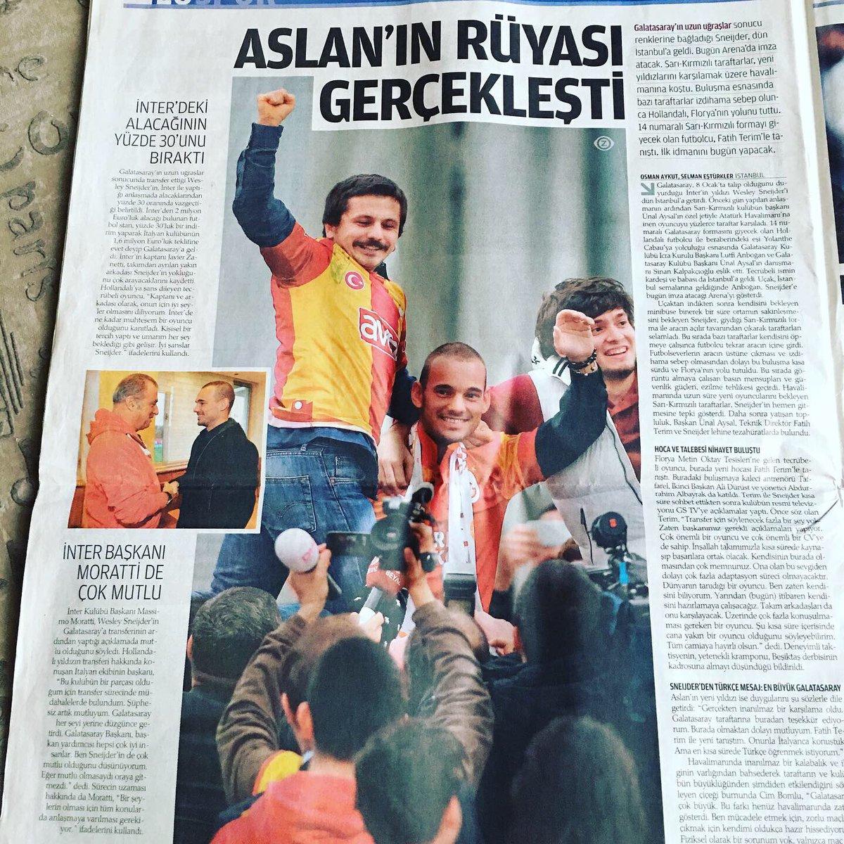 #galatasaray #GalatasaraySK #ultraaslan  #fatihterim #KupaBeyiGalatasaray https://t.co/Z042MLsAWv