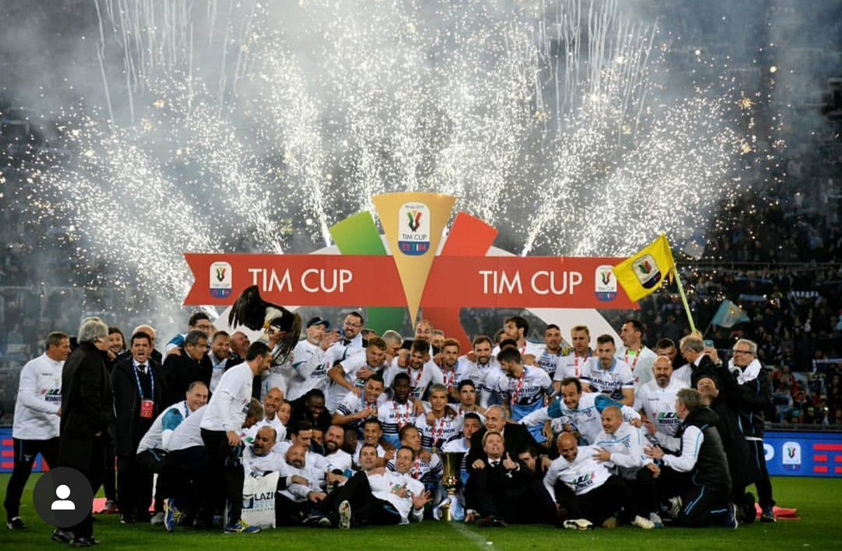 RT @SSLazioOrg: Stasera all'Olimpico presente la #CoppaItalia https://t.co/lLKZZ1xPhq