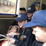 Group 1 are exploring the naval museum