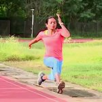 Image for the Tweet beginning: Sprinter Dutee Chand is India's