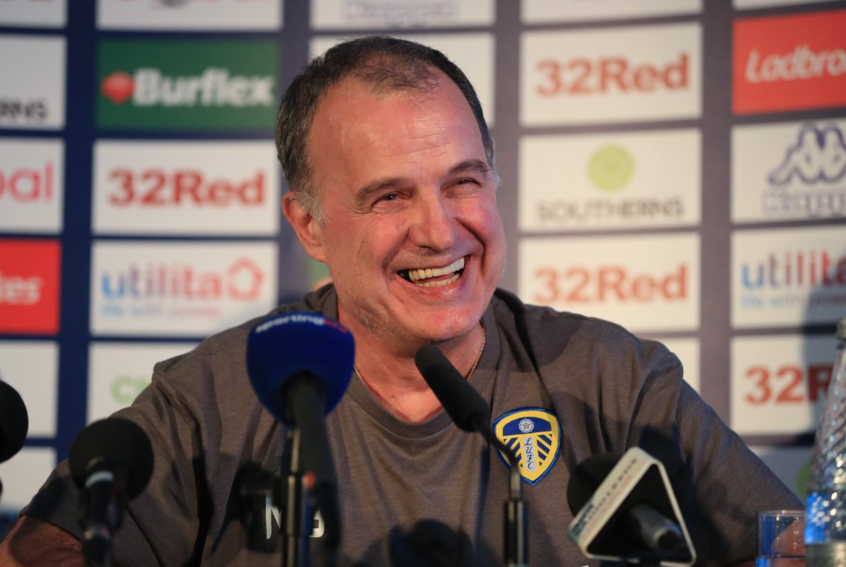 Good news #LUFC fans, Marcelo Bielsa looks set to reject a move to Roma and stay at Leeds for a second season!Where will they finish next season?Via: @footballitalia