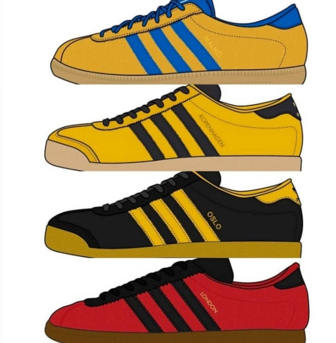 Adidas Kopenhagen poster celebrating the 1978 Kopenhagen