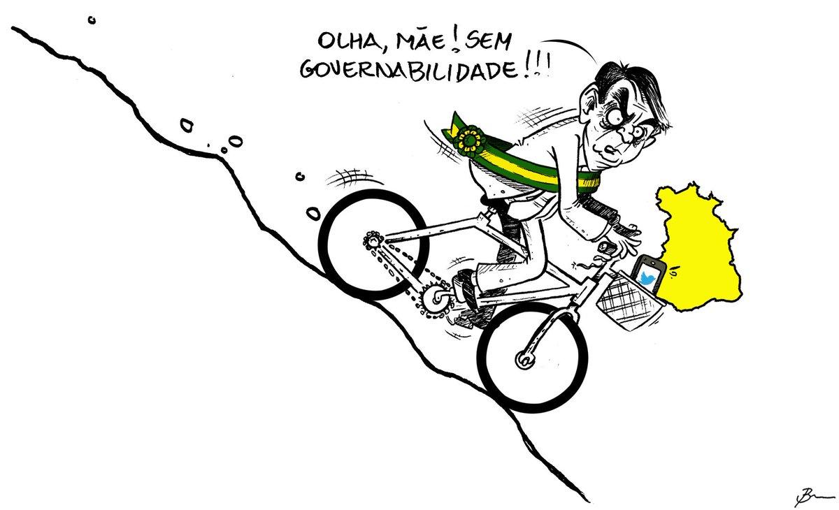 "Brum on Twitter: ""Charge da Tribuna do Norte #charge #brum #charges  #chargespoliticas #governobolsonaro #governofederal #governabilidade  #governabilidadezero #brasil #bicicleta #bolsonaro #cartum #cartunista  #chargistas… https://t.co/XP6jFVESDR"""