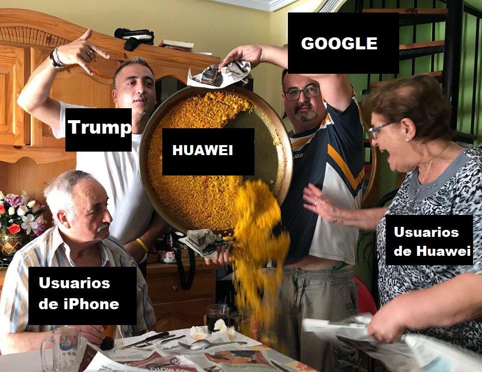 Resumen de lo que ha pasado con Huawei y Google: