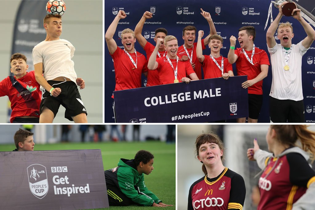Join @NickBrightDJ and @AdeleRoberts as they highlights of the #FAPeoplesCup Finals and have a look at the best stories from this years tournament.  Watch http://bbc.in/2YCnBJE#GetInspired @FA @BBCiPlayer