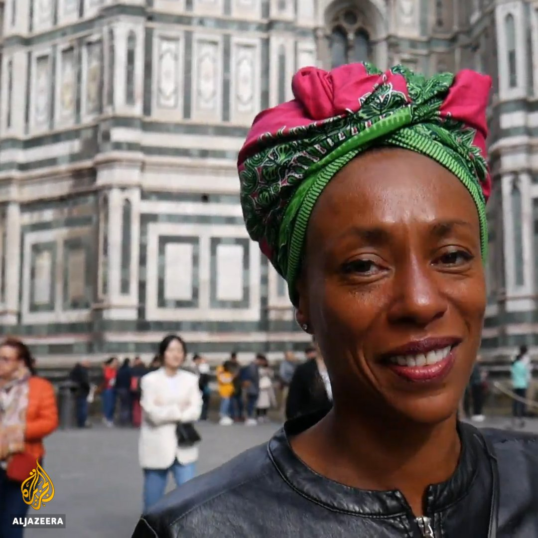 Meet Antonella Bundu - the first black woman to run for mayor in Italy's Florence.