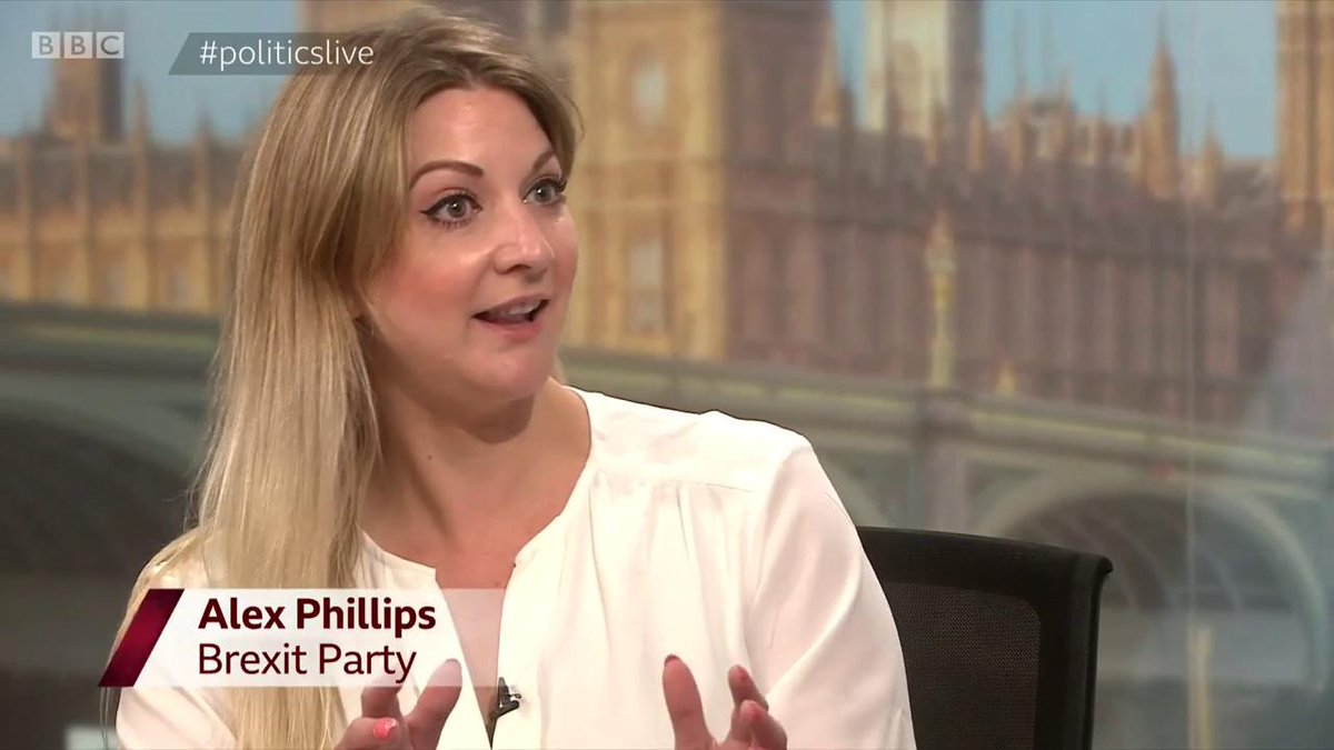 Polite request to @BBCPolitics. Is this fair? To allow people I've been investigating like Banks & Phillips, below, a platform to slag me off on air? Without revealing she worked for Cambridge Analytica - who I exposed. Or asking her anything about it?