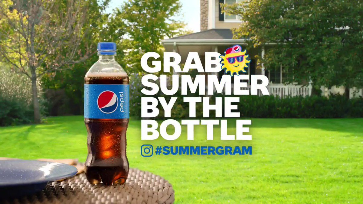 Pepsi #Summergram is here to mark the unofficial start of summer! Watch along as we post from NYC, Chicago, Miami and LA all day long and grab summer by the bottle!