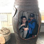 A barrel of fun!