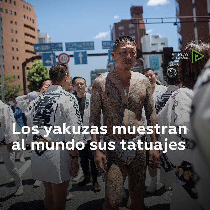Yakuzas: En un festival dedicado a los fundadores del templo budista Senso-ji que se celebra en Tokio, muchos japoneses muestran sus cuerpos cubierto de tatuajes integrales