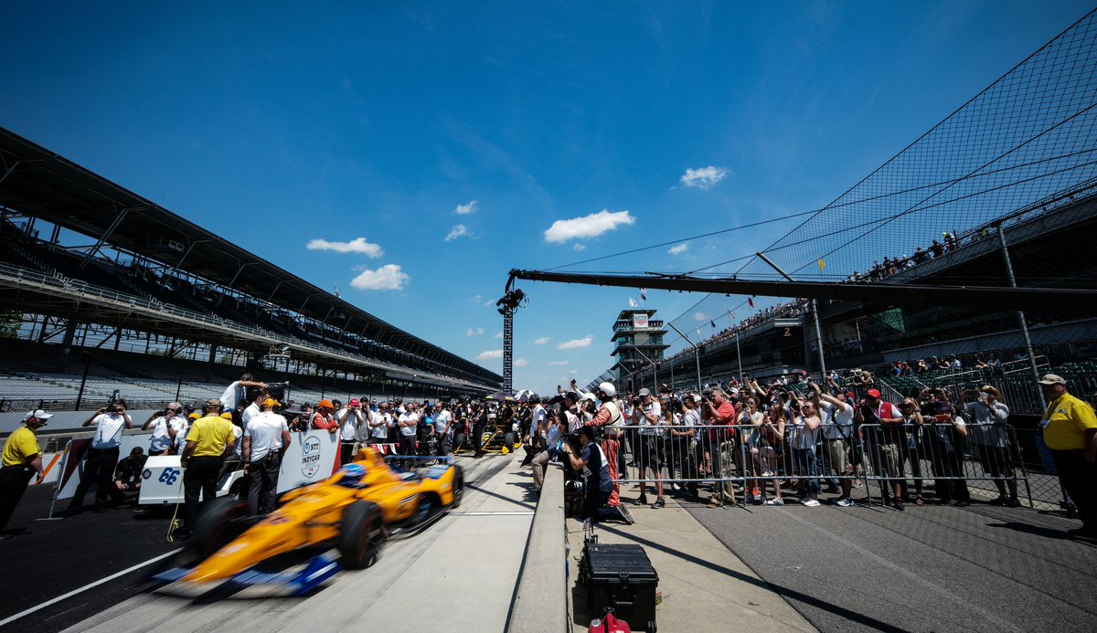 The #Indy500 is, as they say, 'The Greatest Spectacle in Racing'. We wish the best of luck to all of the competitors for a safe and enjoyable event. Whoever wins will be a deserving champion.