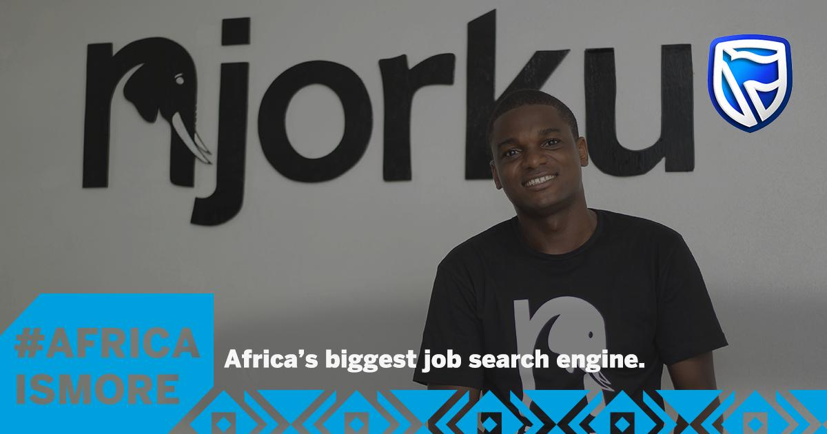 With no computer and no internet, Churchill Nanje started @njorku, Africa's first job-search engine. After empowering millions with jobs, it's easy to see why #AfricaIsMore. This #AfricaMonth, share images that make you proud to be African. https://t.co/uvDuRXvFyZ